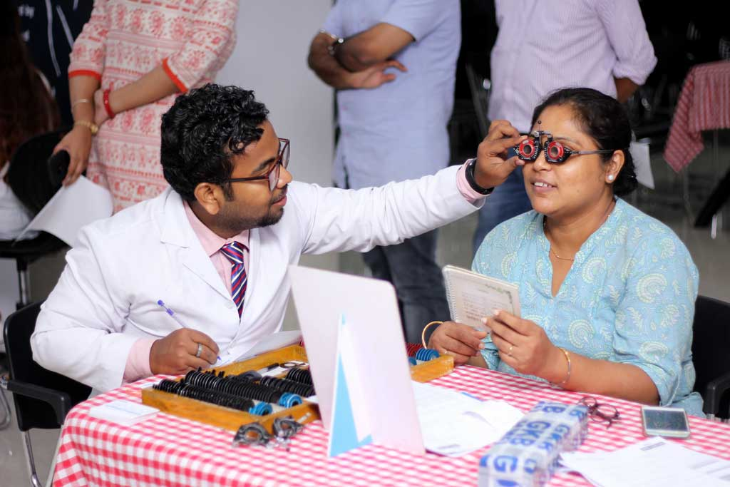 Employee Eye Check-Up Camp at ilead