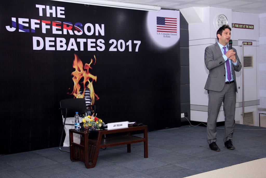 Jay Treloar, Assistant Public Affairs officer of U.S. Consulate General Kolkata
