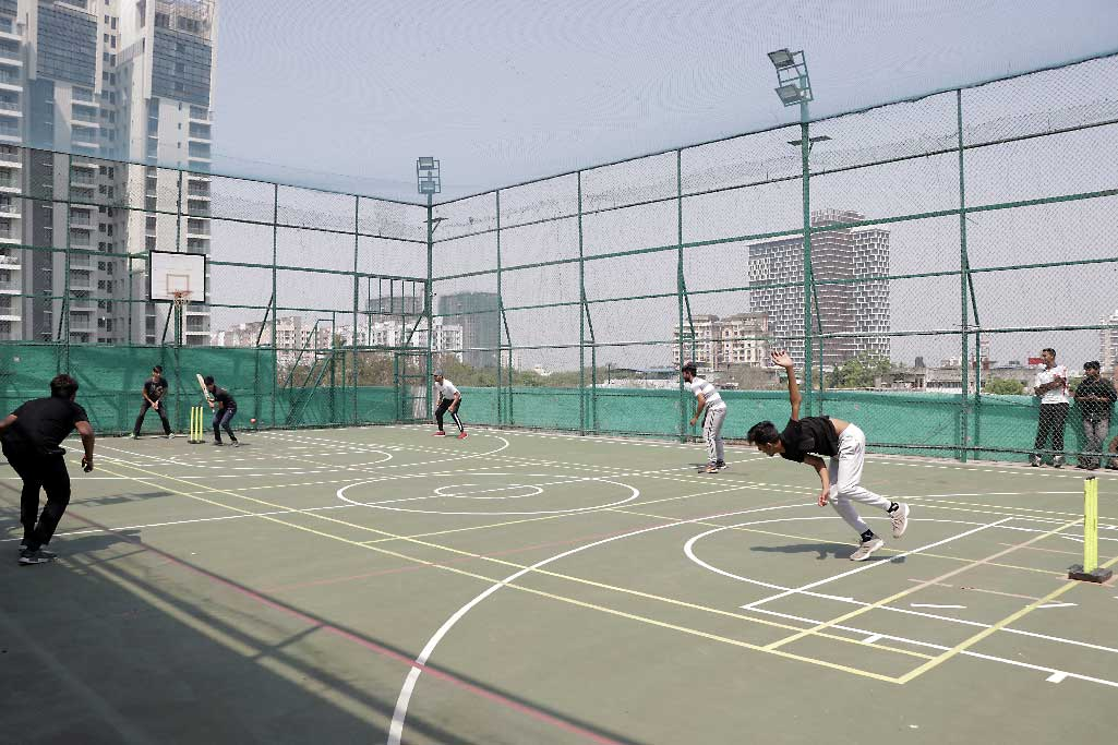 Cricket tournament between the students of iLEAD