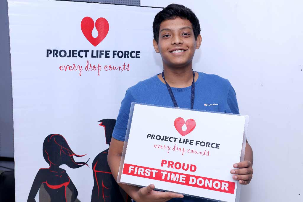 Project Life Force Blood Donation Camp at iLEAD