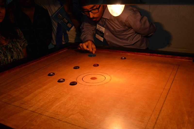 Indoor Carrom at iLEAD