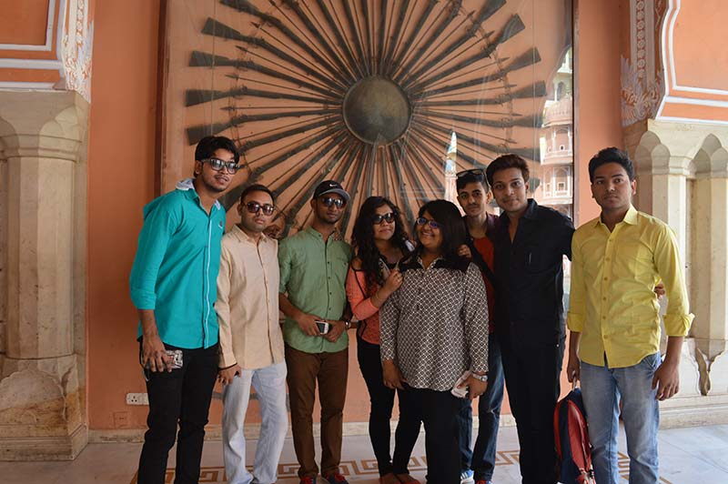 BBA and BMS 2014 -17 Batch Trip to Rajasthan