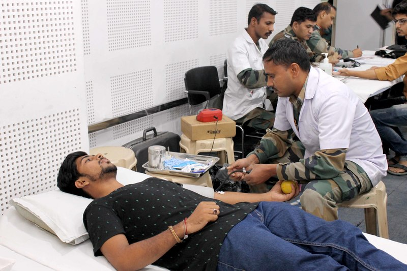 Blood Donation Camp at iLEAD