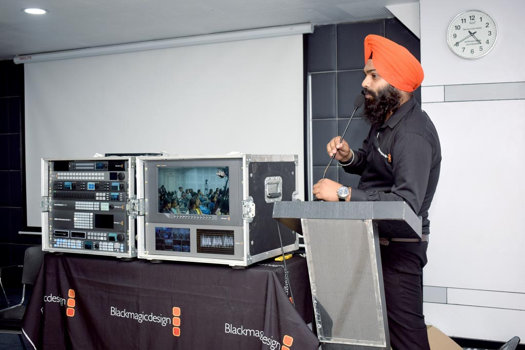 Mr. Gurpreet Singh from Blackmagic Design