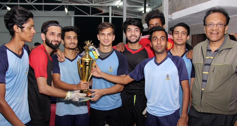 St. Xaviers' College, Boys champions.