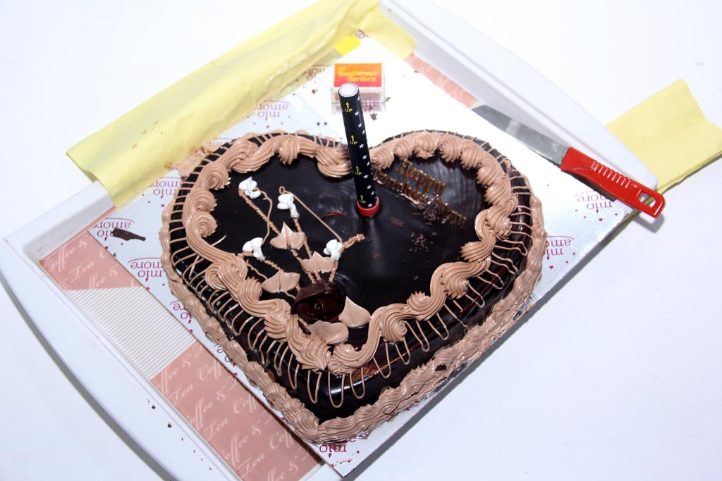 Teachers Day Celebration with Cake