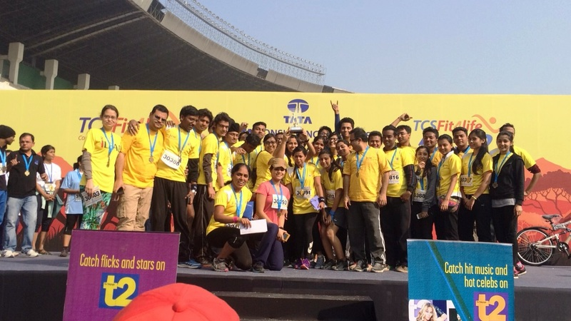1st Prize in TCS Fit4Life Corporate Challenge