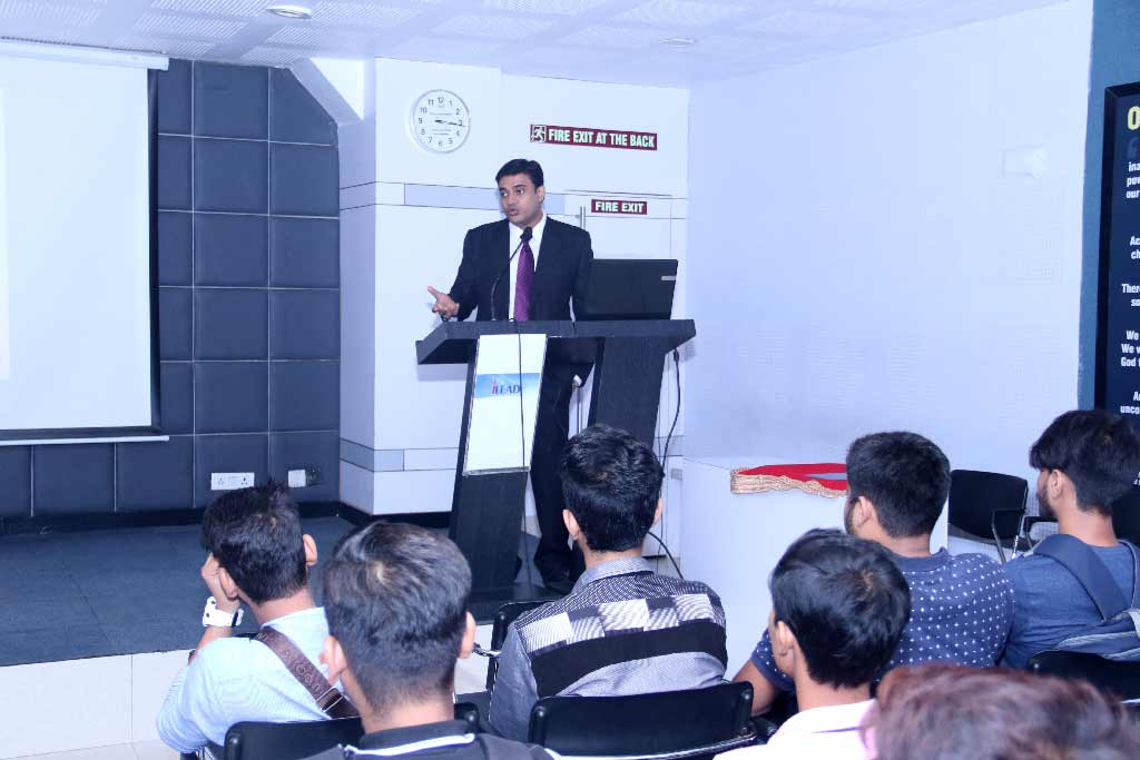 Seminar on Financial Planning at iLEAD by Mr. Tapas Saha