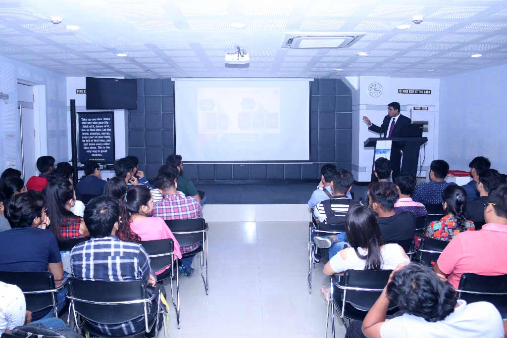 Seminar on Financial Planning at iLEAD by Mr Tapas Saha