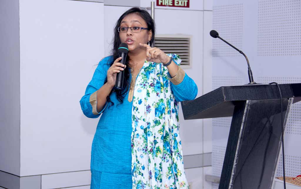 Ms. Moumita Dasgupta, chief of Content Marketing of Innofied Solutions