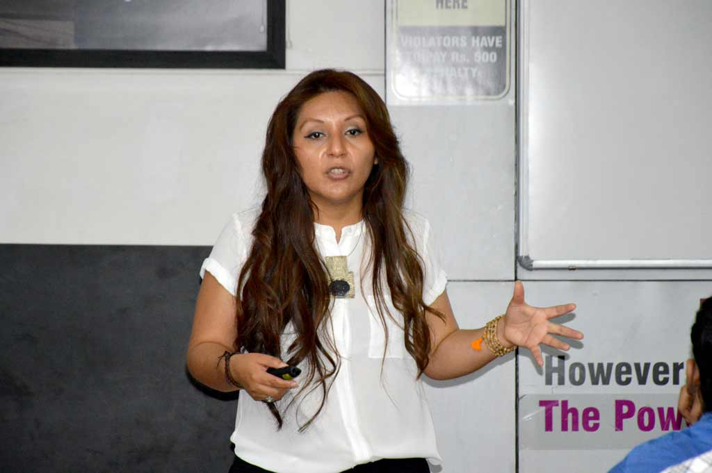 The talk session was mentored by Cynthia Helen