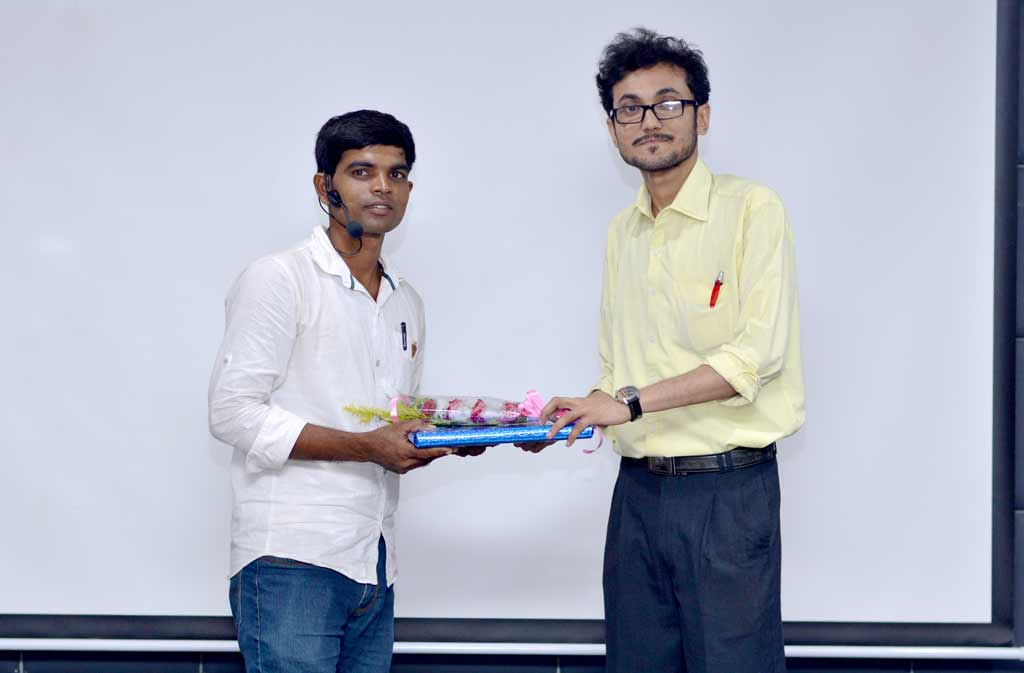 Felicitation of Mr. Ganesh Chowdhury